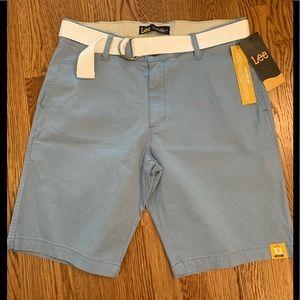 Lee men's belted shorts